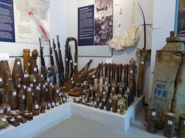 the UXO museum in Luang Prabang