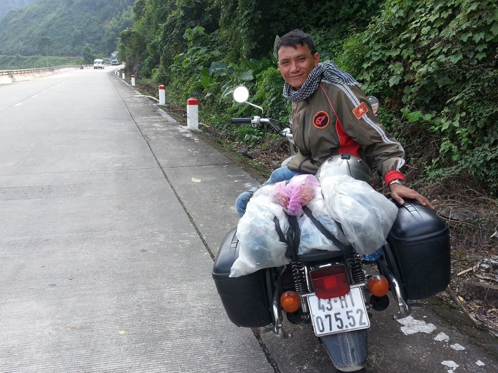 My Osprey Farpoint and my motorbike tour in Vietnam
