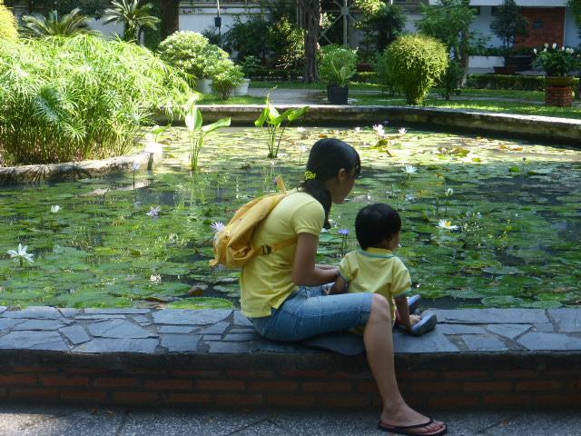 Ho ChiMinh City - the park