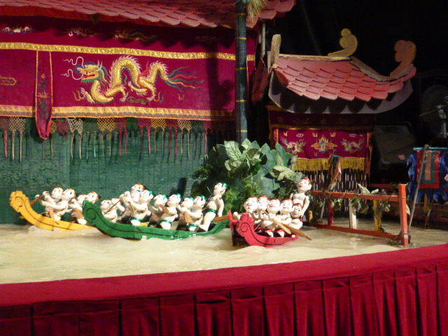 Ho Chi Minh City water puppets