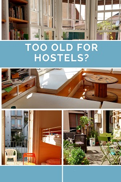 Pin for hostels