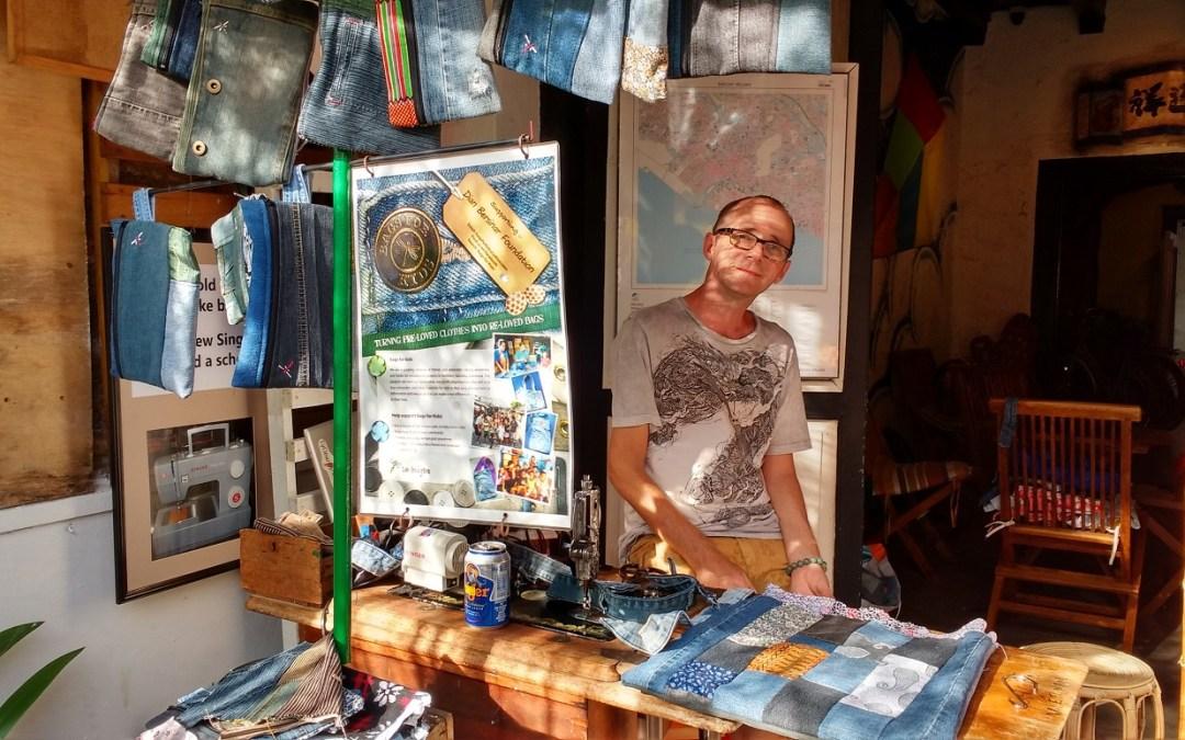 Inspirational people – Lee is helping kids in Sumatra