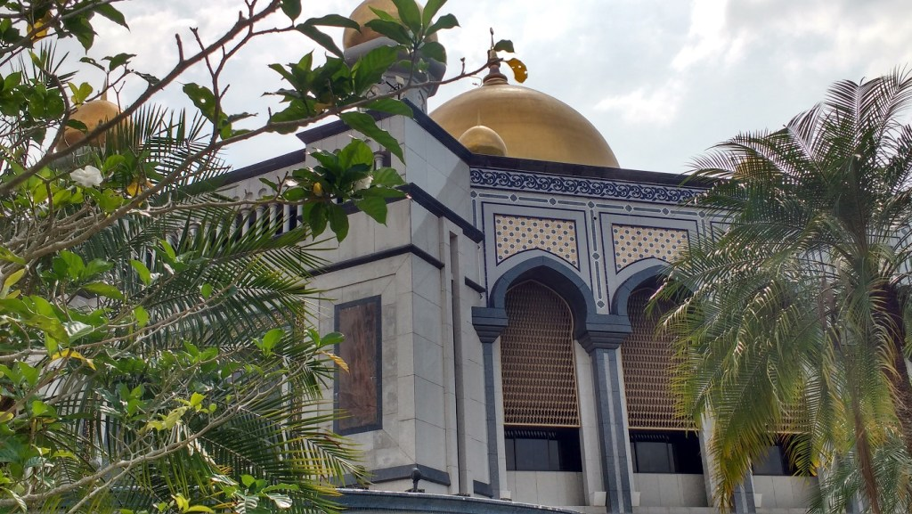 another view of the Jame Asr Sultan Hassanal Bolkiah Mosque