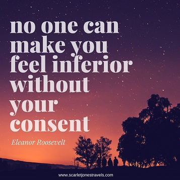self empowerment quote No one can make you feel inferior