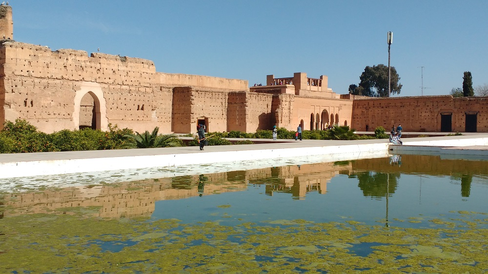 The Badi Palace in Marrakech