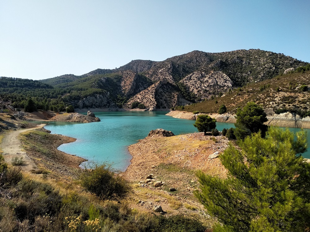a reservoir in Spain