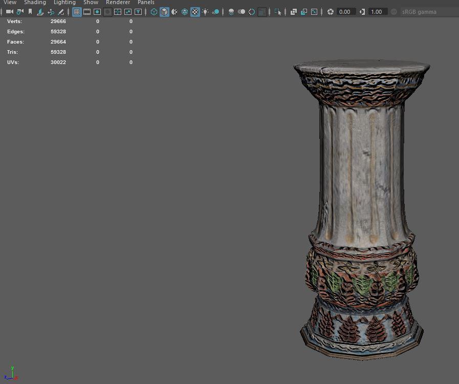 Columns – Scarlet Mouse Designs by Michele Walker
