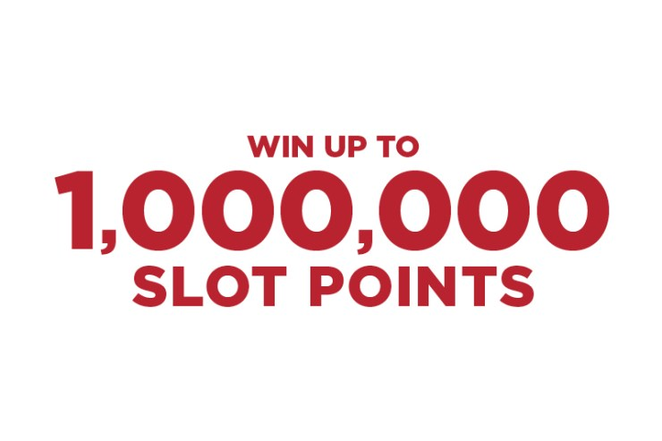 Win Up To 1,000,000 Slot Points Promotion