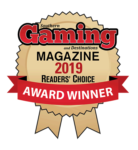 logo for Southern Gaming Mag - 2019 Reader's Choice Winner