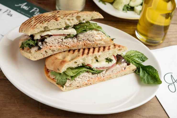 turkey panini ami pizza