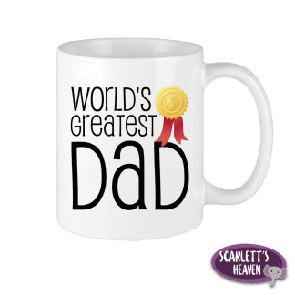 Printed Mugs - Worlds Greatest Dad