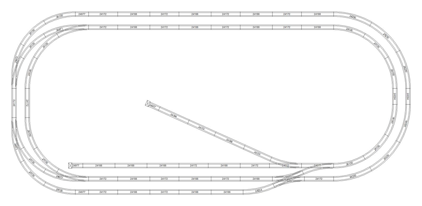Large Train Layouts Wiring