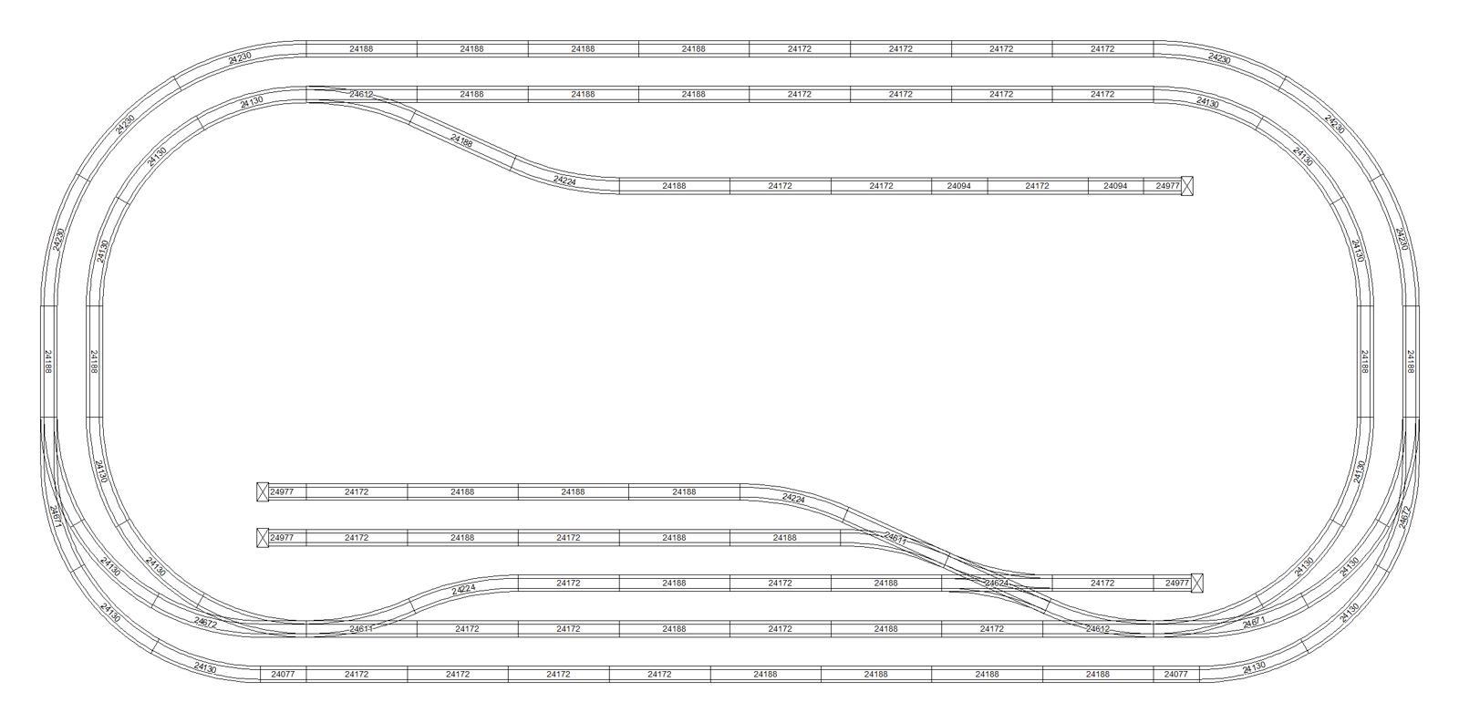 Marklin C Gleis Gleisplane Mit Scarm Erstellt