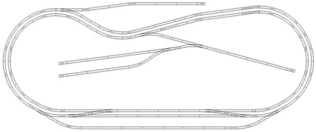Ho Model Train Layouts Track Plans HO Train Layout Track