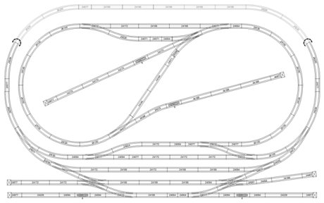 Lionel Track Wiring Diagram Lionel Layout Diagram wiring