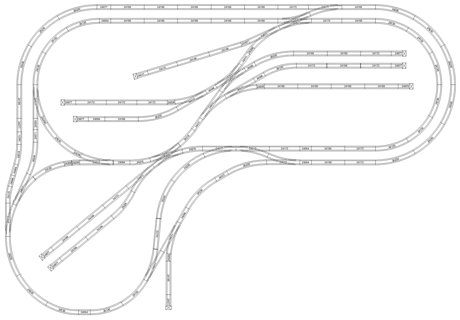 Hornby Train Track Layout Kato Train Layouts Wiring