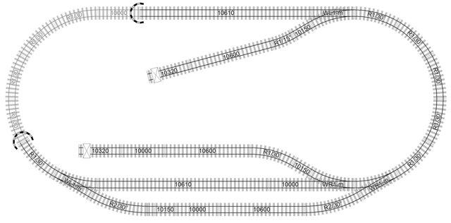 LGB 3,2x1,6m Compact Track Plan #1