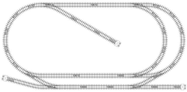 LGB 3,2x1,6m Compact Track Plan #2