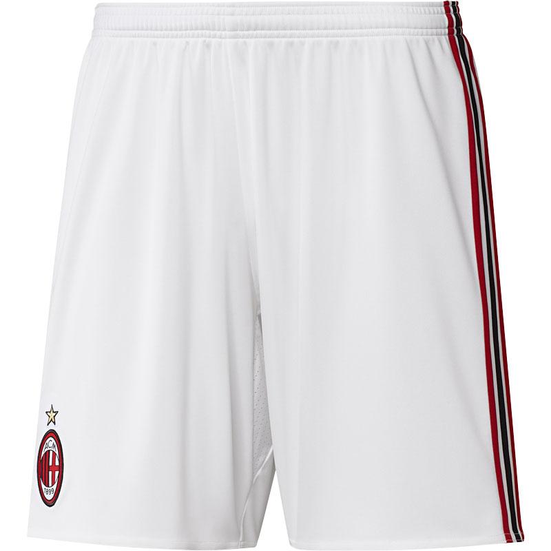 adidas - Milan Pantaloncini Ufficiali Bianchi 2017-18