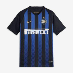 Maglia da calcio 2018/19 Inter Stadium Home - Ragazzi - Nero