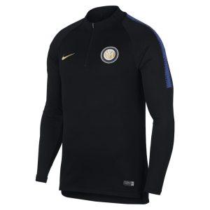 Maglia da calcio a manica lunga Inter Dri-FIT Squad Drill - Uomo - Nero