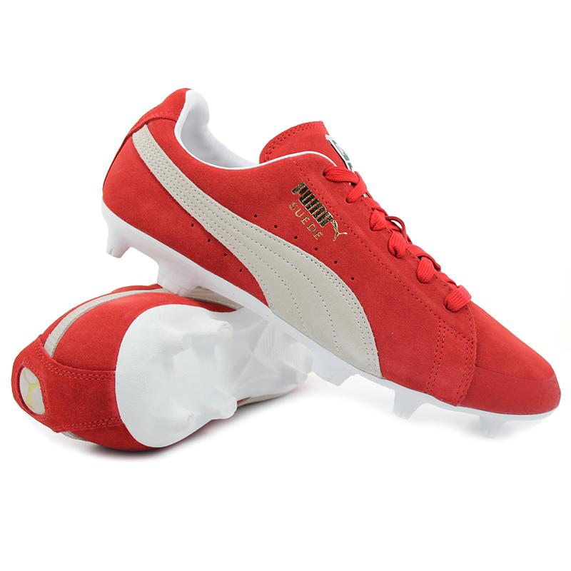 Puma - FUTURE Suede 50 FG / AG Rossa