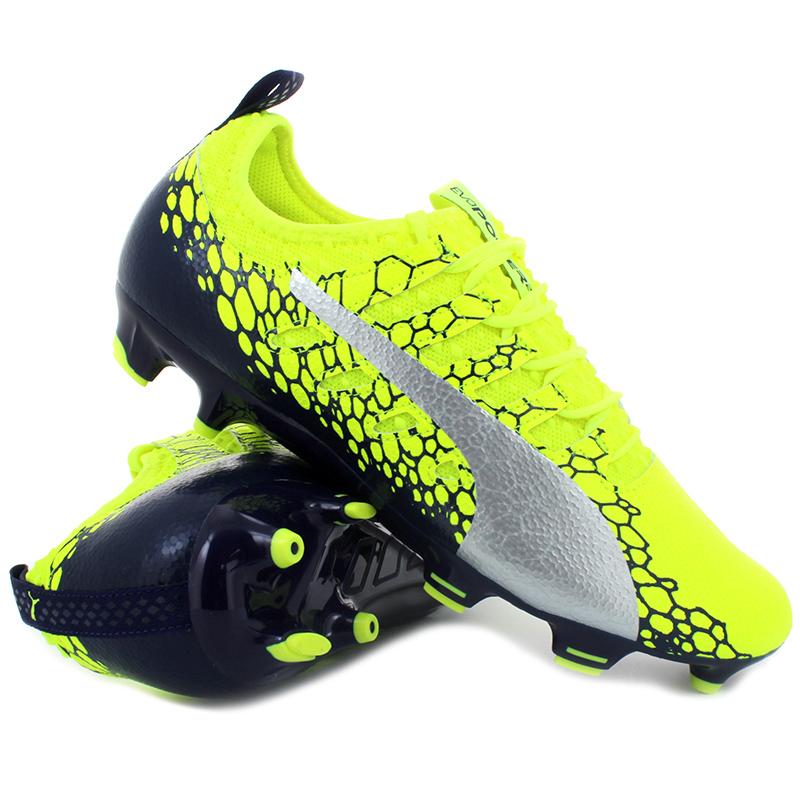 puma evopower vigor 3 graphic fg scarpe da calcio uomo