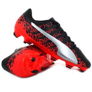 Puma - evoPOWER Vigor 4 GRAPHIC FG Black / Fiery Coral
