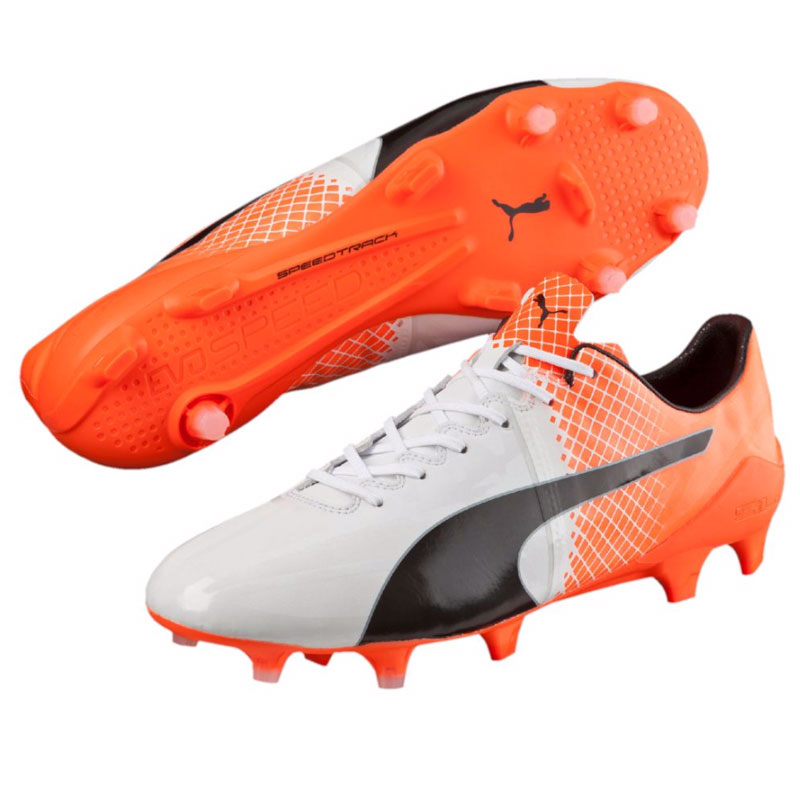 Puma - evoSPEED 1.5 FG White / Orange