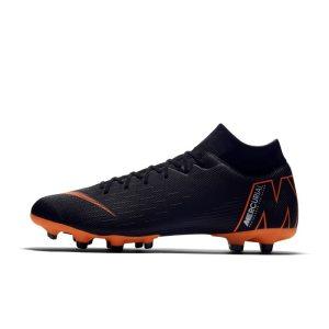 Scarpa da calcio multiterreno Nike Mercurial Superfly VI Academy MG - Nero