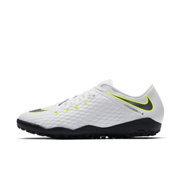 Scarpa da calcio per erba artificiale/sintetica Nike HypervenomX III Academy TF - Bianco
