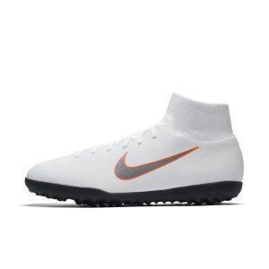 Scarpa da calcio per erba sintetica Nike MercurialX Superfly VI Club - Bianco