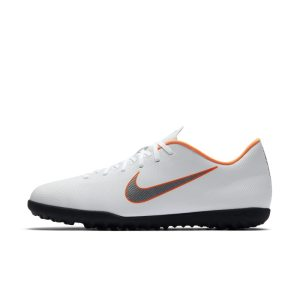 Scarpa da calcio per erba sintetica Nike MercurialX Vapor XII Club - Bianco