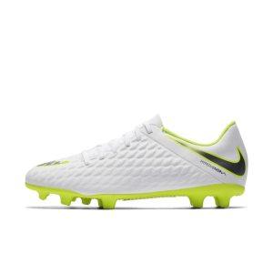 Scarpa da calcio per terreni duri Nike Hypervenom Phantom III Club - Bianco