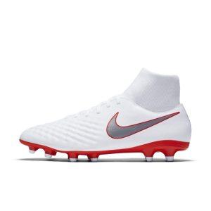 Scarpa da calcio per terreni duri Nike Magista Obra II Academy Dynamic Fit - Bianco