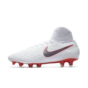 Scarpa da calcio per terreni duri Nike Magista Obra II Pro Dynamic Fit - Bianco
