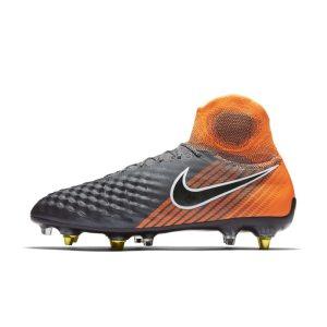 Scarpa da calcio per terreni morbidi Nike Magista Obra II Elite Dynamic Fit SG-PRO - Grigio