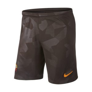Shorts da calcio 2017/18 A.S. Roma Stadium Third - Uomo - Marrone