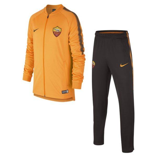 Tuta da calcio A.S. Roma Dri-FIT Squad - Ragazzi - Arancione
