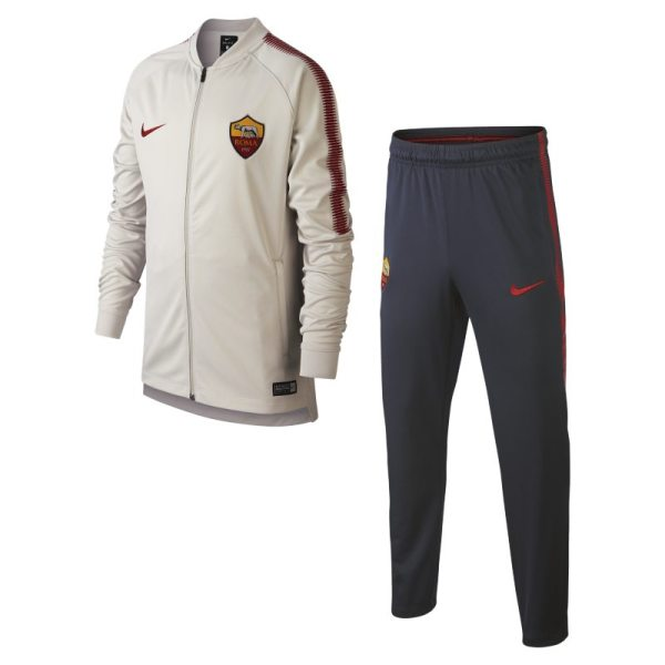 Tuta da calcio A.S. Roma Dri-FIT Squad - Ragazzi - Cream