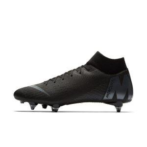 Scarpa da calcio per terreni morbidi Nike Mercurial Superfly VI Academy SG-PRO - Nero