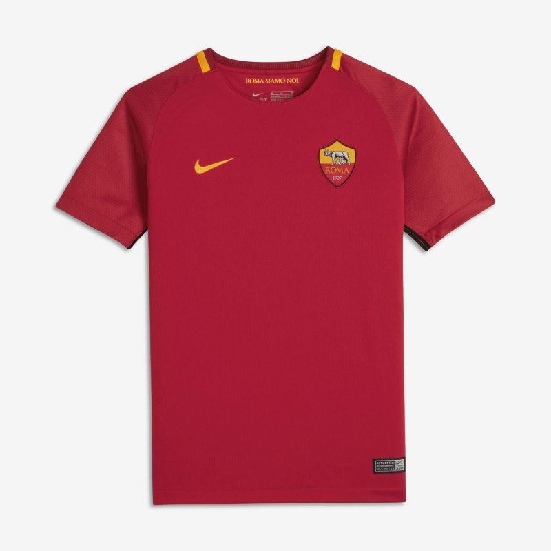 Maglia da calcio 2017/18 A.S. Roma Stadium Home - Ragazzi - Red