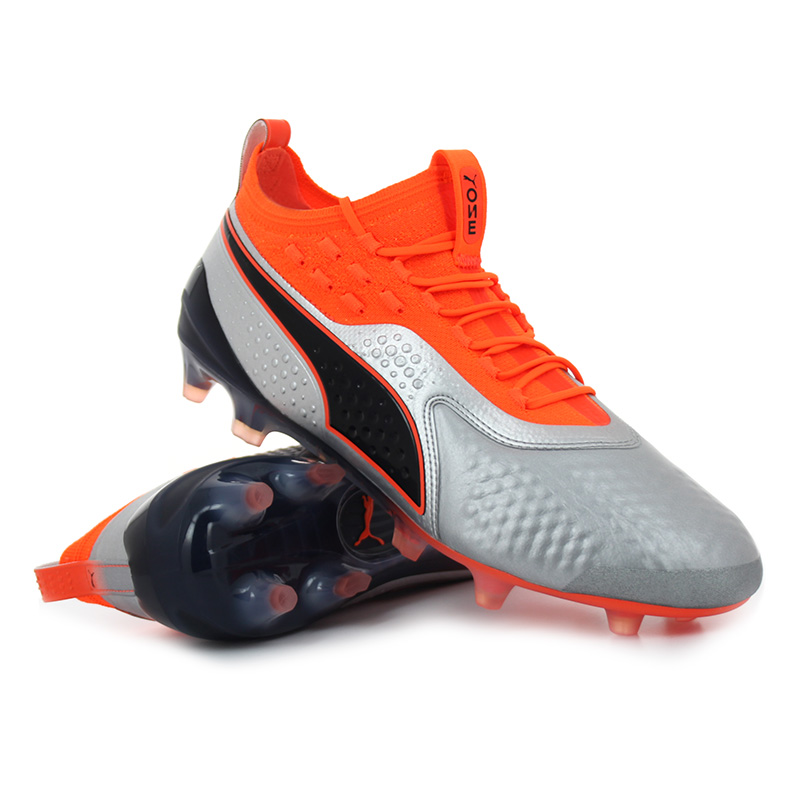 Puma - ONE 1 Lth FG / AG Shocking Orange Uprising Pack