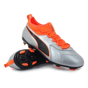 Puma - ONE 3 Lth AG Shocking Orange Uprising Pack