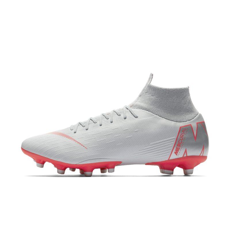 Scarpa da calcio per campi in erba artificiale Nike Mercurial Superfly VI Pro AG-PRO - Grigio