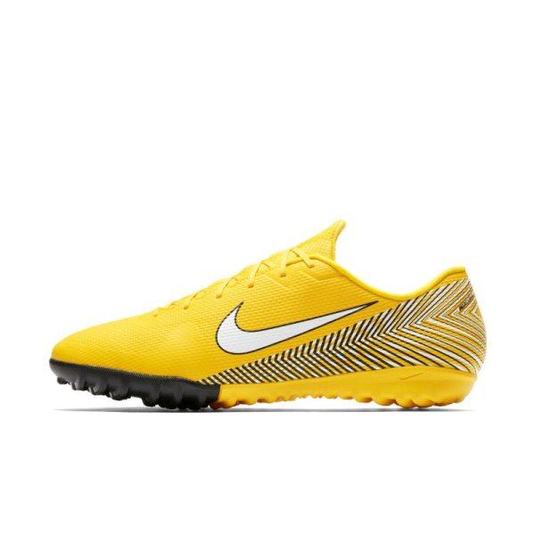 Scarpa da calcio per erba artificiale/sintetica Nike Mercurial Vapor XII Academy Neymar TF - Giallo