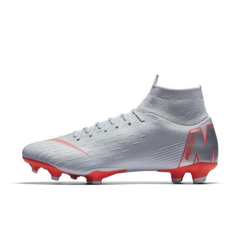 Scarpa da calcio per terreni duri Nike Mercurial Superfly VI Pro - Grigio