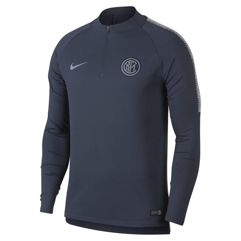 Maglia da calcio a manica lunga Inter Dri-FIT Squad Drill - Uomo - Blu