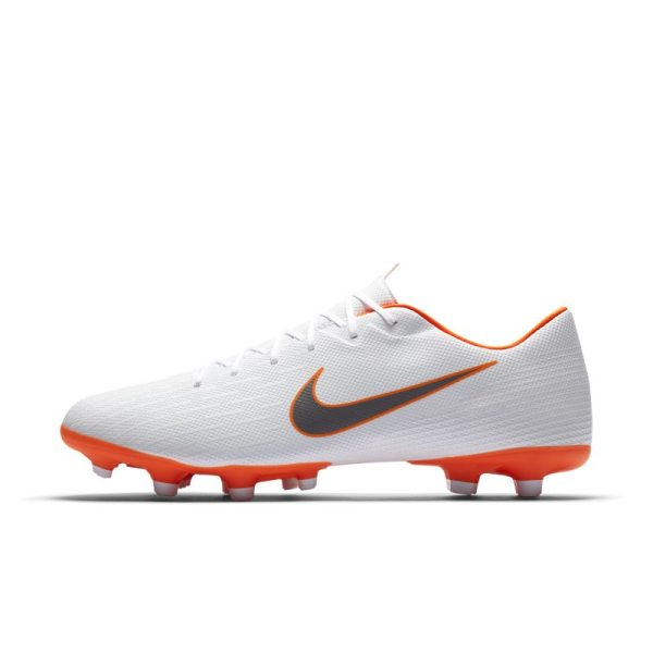 Scarpa da calcio multiterreno Nike Mercurial Vapor XII Academy Just Do It - Bianco