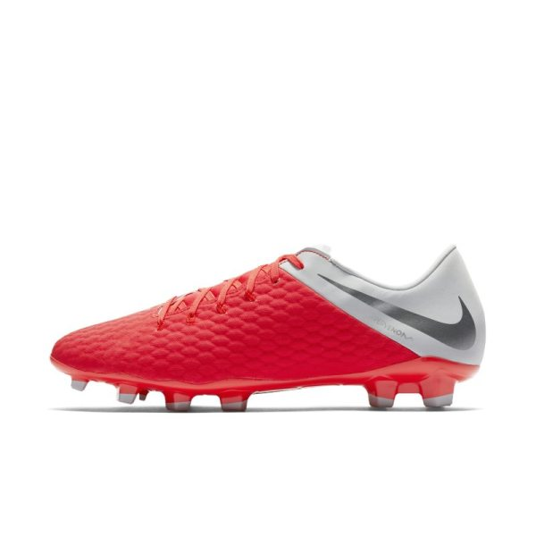 Scarpa da calcio per terreni duri Nike Hypervenom Phantom III Academy - Red